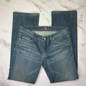 7 for all Mankind Boy Cut Jeans Size 29